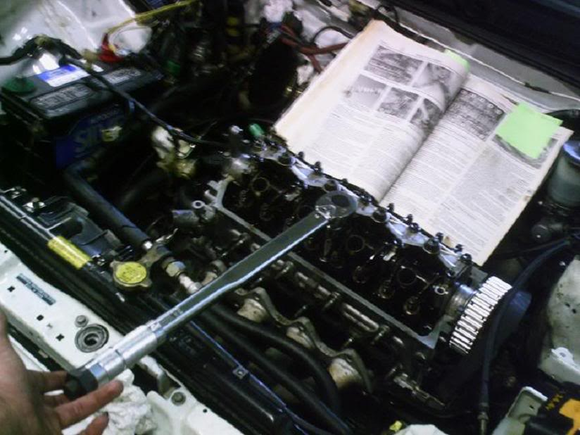 How To Change A Head Gasket Lots Of Pics Hondaswap
