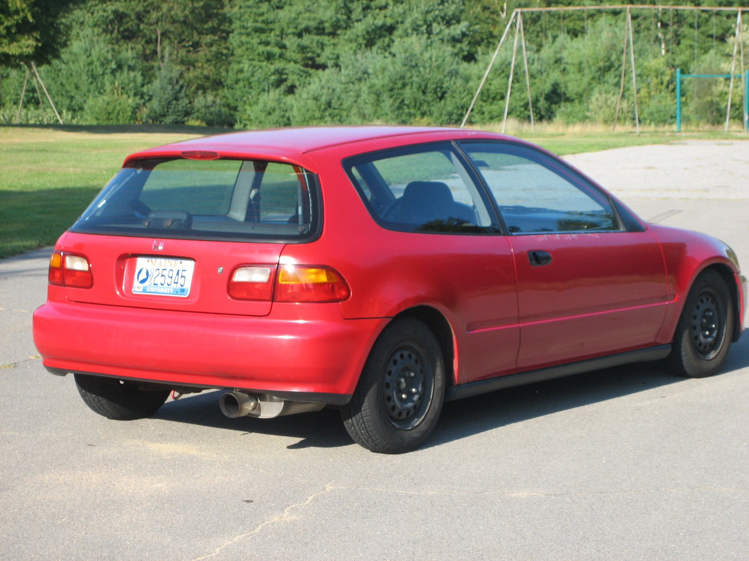 si for honda civic post sale hatchback