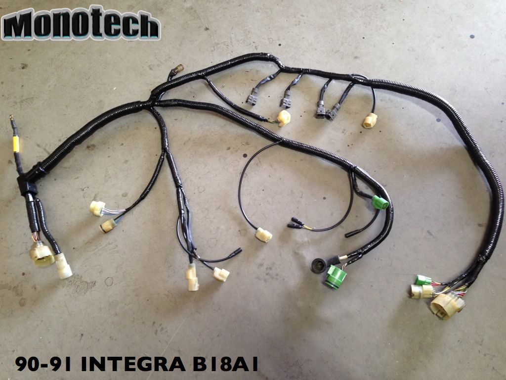 90 91 integra engine harness hondaswap rh hondaswap com 94 Integra 1991 integra wiring harness