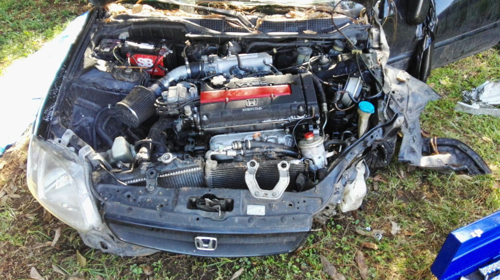 Engine for 95 civic - I Have A Project Civic 95 Hb Engine D15b8 A Can Swap B16a2 Si 2000 I Need Help Conect Ecu P2t In Harness Civic 95 Note I Dont Speak English Sorry