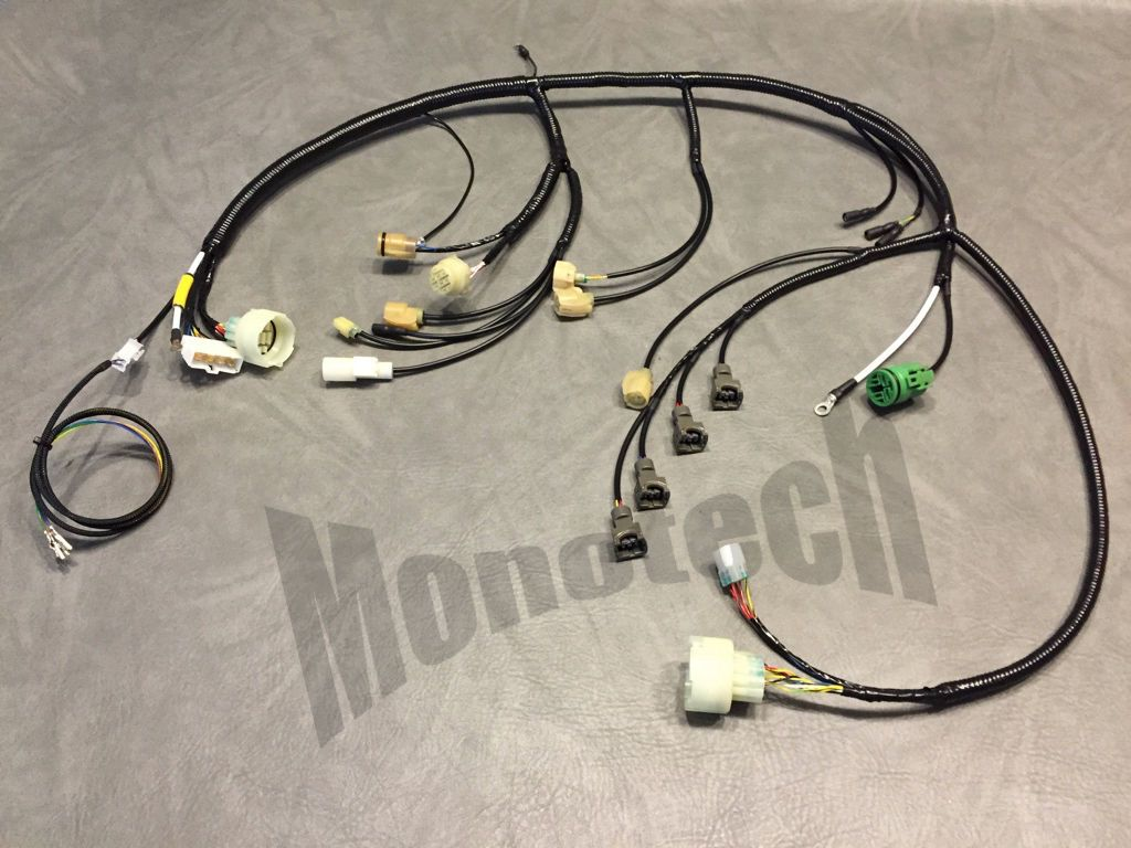 Swap In New Hf Motor Hondaswap Wiring Harness Conversion Engine S L1600