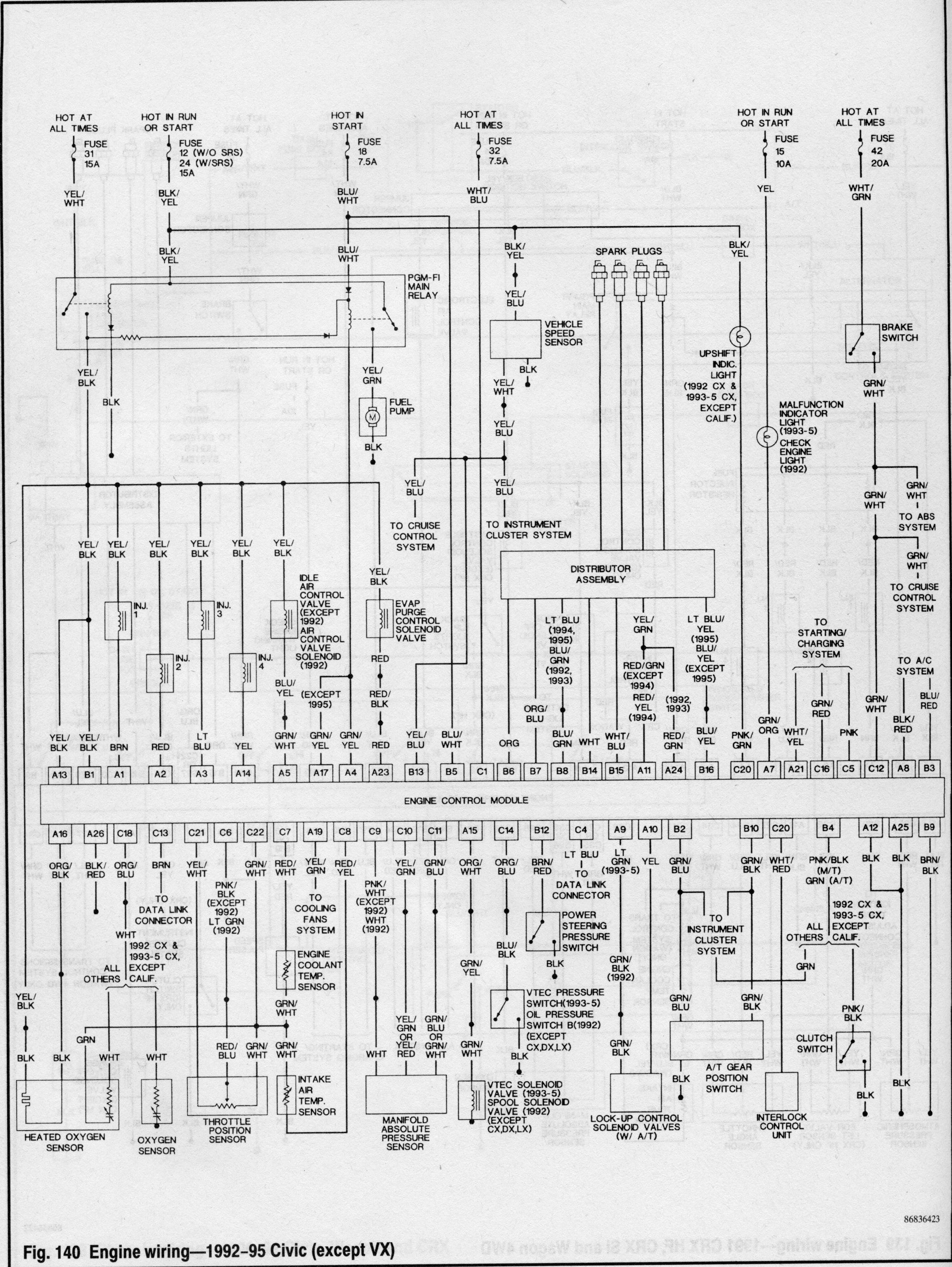 b18c wiring diagram pinout diagrams \u2022 wiring diagrams j squared co Basic Electrical Wiring Diagrams at gsmx.co