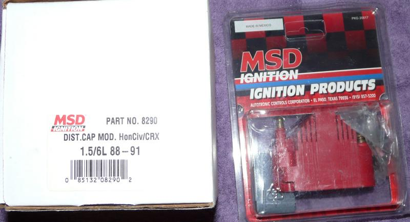 MSD ign coil / cap & rotor