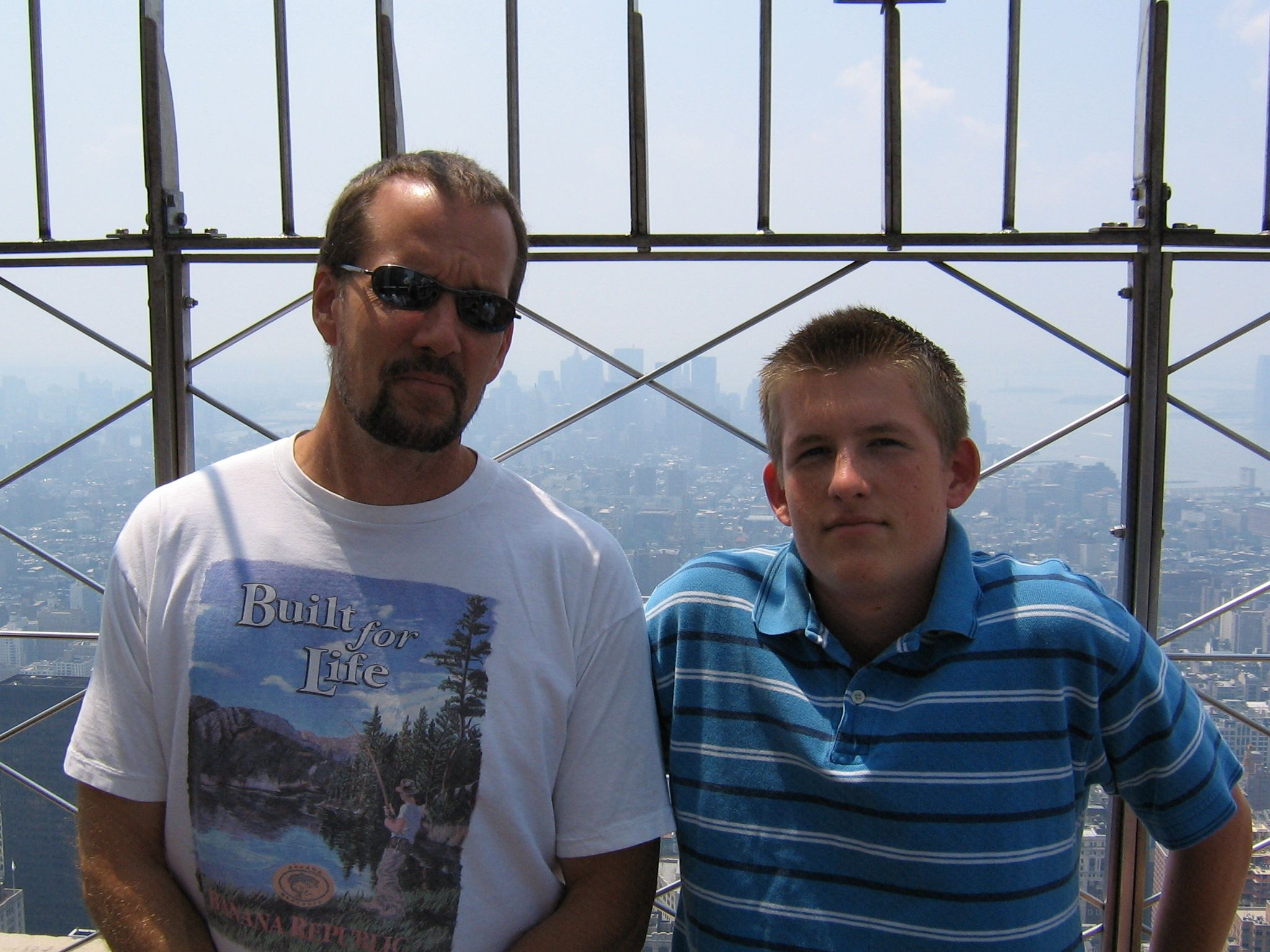 My dad and I in NYC